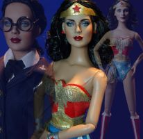 Lynda Carter Wonder Woman Doll by ShannonCraven