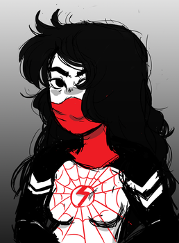 Silk quick sketch by DippinDot-Doodles
