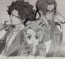Samurai Champloo by greydiance3