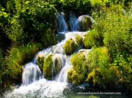 Plitvice Lakes by EliseEnchanted