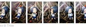 Rinko And Tree by Bosch91