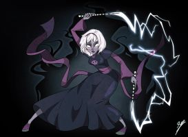 Grimdark rose by Violet1202
