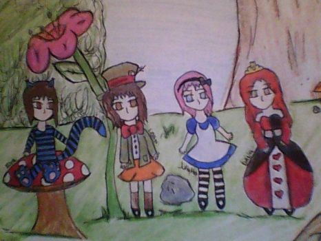4-Ever in Wonderland by danielle2811