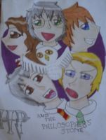 Harry Potter Manga Cover by fantasygirl1999