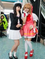 Card Captor Sakura and Tomoyo by EriTesPhoto