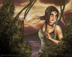 Lara Croft by RebeccaFrank