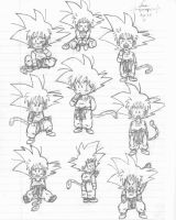 2 years old Son Goku by hikari-chan1