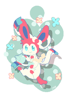 Sylveon by Cocoroll