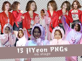 [PNG] 13 JiYeon PNGs on Stage by SammyYun