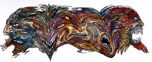 Transformation Triptych by CliveBarker