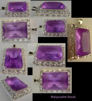 Amethyst Pendant Stock IV by Melyssah6-Stock