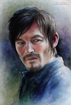 Daryl Dixon_Norman Reedus by MeduZZa13