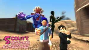 Scout's Bizarre Adventure by cyrax010014