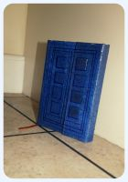 TARDIS Notebook by Pinkie-Perfect