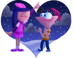Merry Christmas Phineas by Marie-Mike