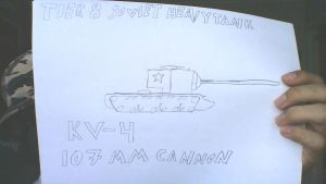 Derp drawing: KV-4 by COLT731