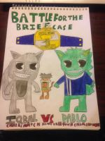 Iqbal vs Pablo BFTB chairs match poster by htflover4life