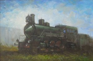 steam locomotive by tohas
