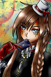 Visual Kei Aliah  colored by kanogt