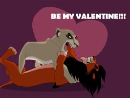 Be my Valentine by SilvertoneAnimals