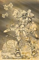Sketch Robotech Cyclone Mecha Girl 022012 by Warhound-CMP