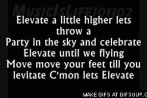 Big Time Rush (Elevate) Lyric Gif by NickelodeonLover