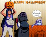 Halloween Pregnant Drawing 2015 by JAM4077