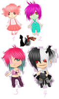 Chibi Leftovers Special Offer OPEN by Riiri-chu