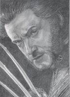 Wolverine - Hugh Jackman by WitchiArt