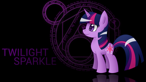 Twilight Sparkle Wallpaper by wildberry-poptart