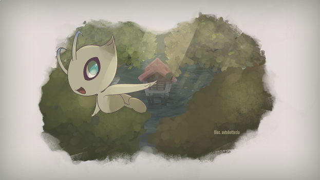 Mythical Pokemon Collection 02 - Celebi by AutobotTesla
