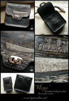 """Hope"" leather belt pouch by morgenland"
