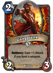 Gangplank Hearthstone by LegendaryRey