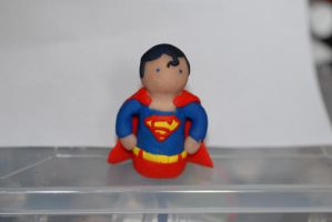 Superman Sculpey by calebupah