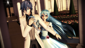 MMD TDA:Please don't leave me by AmaneHatsura