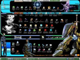 My Current Main Desktop by Phifty
