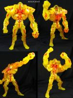 Custom Marvel Legends Holocaust BAF figure by Jin-Saotome