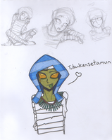Tut Sketchies by Blue-Vampire-Queen
