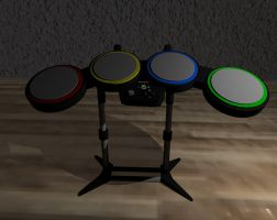 Rock Band Drums by Etrocal