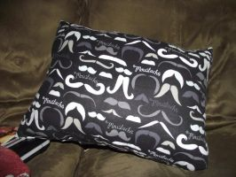 i mustache you a question pillow by wearmuffin