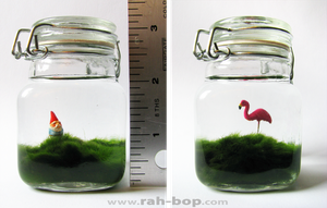 Lawn in a Jar - detail by rah-bop