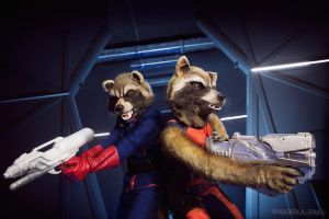 Guardians of the Galaxy by Grimmjou