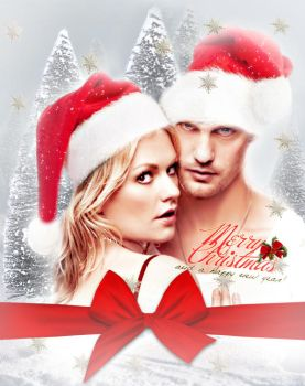 Sookie and Eric Christmas by Miss-deviantE