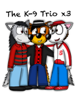 The K-9 Trio (pagedoll gift) by ZachMFKAttack