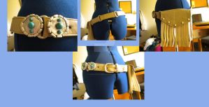 Commission: Gunner belt I by kairi-costumes
