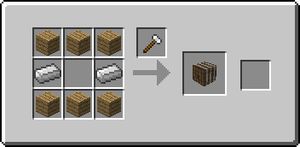 Minecraft - Workshop and Wine: Barrel Recipe by NeonLugia