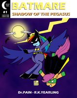 Batmare:  Shadow Of The Pegasus by TheShapelessMold