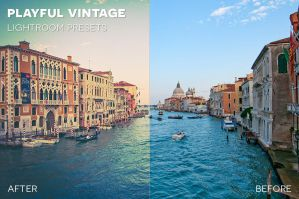 Playful Vintage Lightroom Presets by photographypla-net