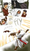 Assassin's creed Flying guard (English version) by aggieandco