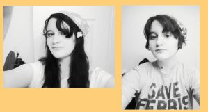 I can never NOT look like a Hetalia character :I by mistwolf98
